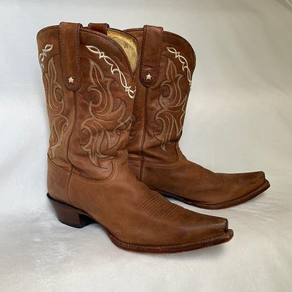 Tony Lama⭐️Vaquero Western Cowboy Boots Size 10!